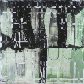 schilderij Funs Erens - acryl op mdf - 30x30cm - 2015